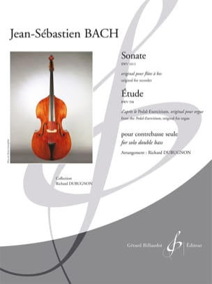BACH - Sonata BWV 1013 / Study BWV 598 - Sheet Music - di-arezzo.co.uk