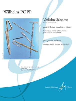 Wilhelm Popp - Verliebte Schelme, Concert-Gavotte op. 448 - Partition - di-arezzo.fr