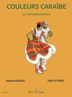 Rousse Valérie / Littorie Joël - Couleurs Caraïbe - Partition - di-arezzo.fr