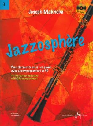 Jazzosphère Volume 3 - Joseph Makholm - Partition - laflutedepan.com