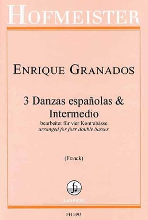 Enrique Granados - 3 Danzas españolas - Intermedio - Sheet Music - di-arezzo.co.uk