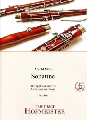 Arnold Matz - Sonatine - Partition - di-arezzo.fr