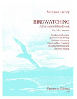 Michael Henry - Birdwatching - Partition - di-arezzo.fr