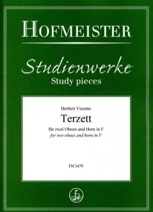 Terzett - Herbert Viecenz - Partition - Trios - laflutedepan.com