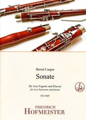 Bernd Casper - Sonate - Partition - di-arezzo.fr