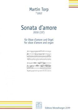 Sonata d'amore - Martin Torp - Partition - Hautbois - laflutedepan.com