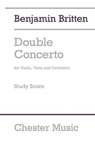 Benjamin Britten - Double concerto pour violon, alto et orchestre (1932) - Partition - di-arezzo.fr