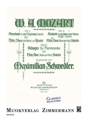 Wolfgang Amadeus Mozart - Adagio pour Harmonica, KV 356 / 617a - Partition - di-arezzo.fr