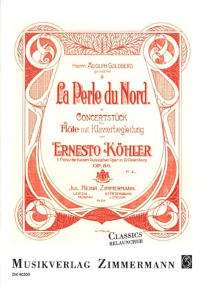 Ernesto KÖHLER - The Pearl of the North, op. 86 - Sheet Music - di-arezzo.co.uk