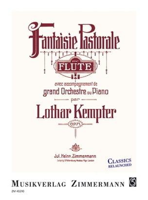 Fantaisie Pastorale op. 71 - Lothar Kempter - laflutedepan.com