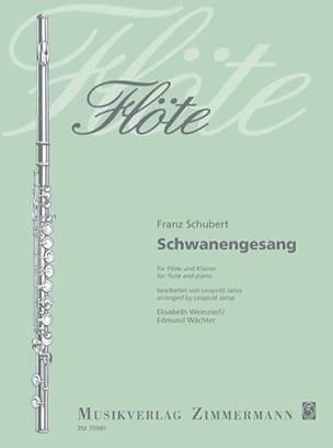 Franz Schubert - Schwanengesang (Le Chant du Cygne) - Partition - di-arezzo.fr