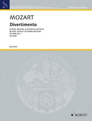 Divertimento No. 1, KV 439b - MOZART - Partition - laflutedepan.com