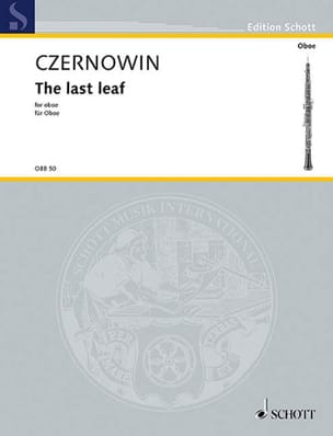The last leaf - Chaya Czernowin - Partition - laflutedepan.com