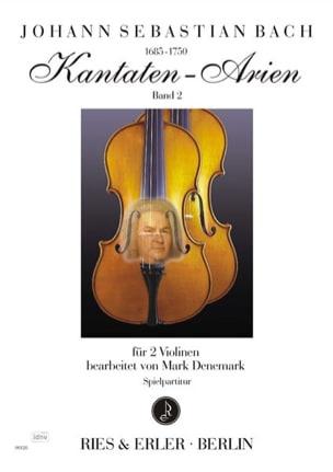 Kantaten Arien Volume 2 BACH Partition Violon - laflutedepan