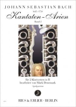 Johann Sebastian Bach - Kantaten-Arien Volume 2 - Partition - di-arezzo.fr