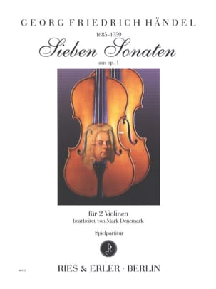 HAENDEL - 7 sonatas from opus 1 - Sheet Music - di-arezzo.com