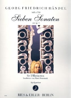 HAENDEL - 7 sonates de l'opus 1 - Partition - di-arezzo.fr