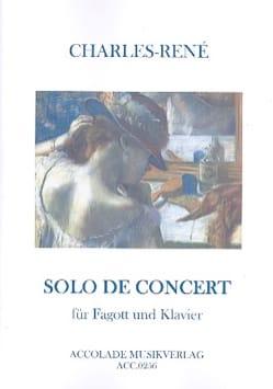 Charles-René - Solo de Concert - Partition - di-arezzo.fr