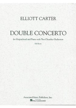 Double concerto - Elliott Carter - Partition - 0 - laflutedepan.com