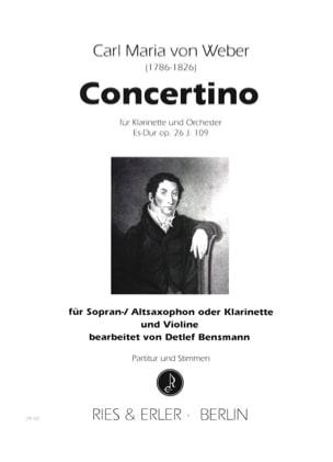 Concertino en Mib majeur op. 26 - laflutedepan.com