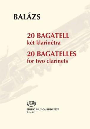 Arpad Balazs - 20 Bagatelles - Partition - di-arezzo.fr