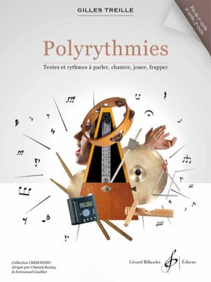 Gilles Treille - Polyrythmies fin de 1er cycle, 2e et 3e cycle - Partition - di-arezzo.fr