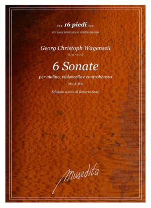 Georg Christoph Wagenseil - 6 sonatas for violin, cello and contrabass - Sheet Music - di-arezzo.com