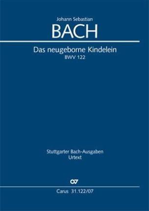 BACH - Das Neugeborne Kindelein, BWV 122 - Sheet Music - di-arezzo.co.uk
