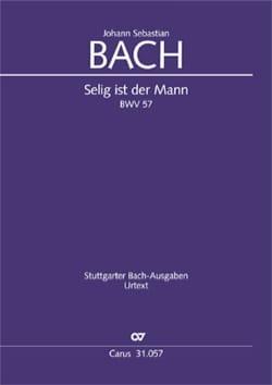 BACH - Selig ist der Mann Dialogus, BWV 57 - Sheet Music - di-arezzo.co.uk