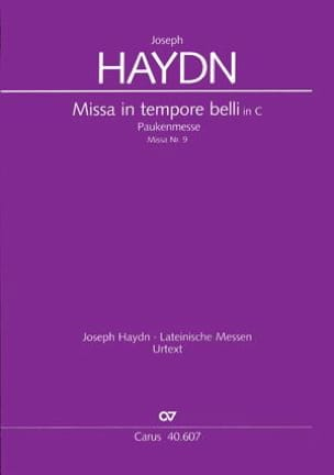 Missa in tempore belli (Paukenmesse) – Conducteur - laflutedepan.com