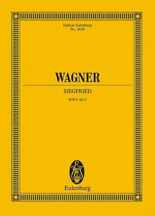 Richard Wagner - Siegfried, Opéra - Partition - di-arezzo.fr