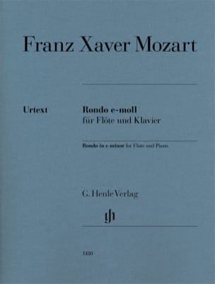 Franz Xaver Mozart - Rondo in E minor for flute and piano - Sheet Music - di-arezzo.com