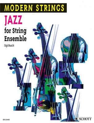 Jazz for String Ensemble - Sigi Busch - Partition - laflutedepan.com