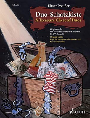 The treasure chest of duos - Sheet Music - di-arezzo.co.uk