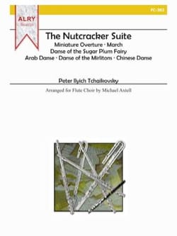 The Nutcracker Suite Complete Set TCHAIKOVSKY Partition laflutedepan