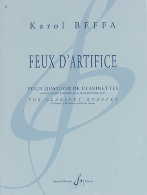 Karol Beffa - Feux d'artifice - Partition - di-arezzo.fr