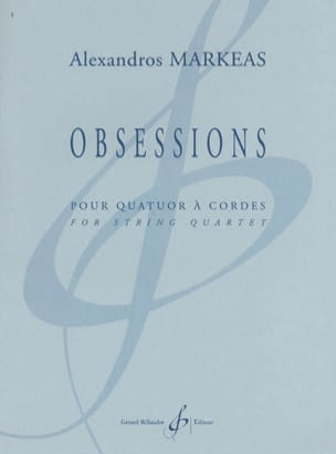 Obsessions - Alexandros Markeas - Partition - laflutedepan.com