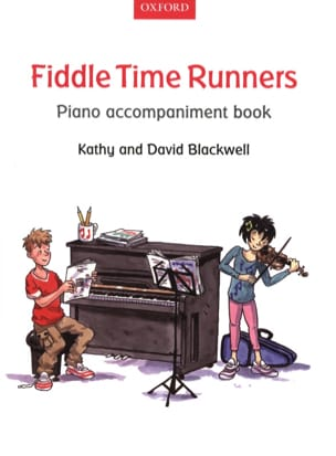 - Fiddle Time Runners Piano Accompaniment Book - Partition - di-arezzo.fr