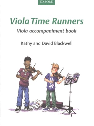 Viola Time Runners Viola accompaniment book Partition laflutedepan