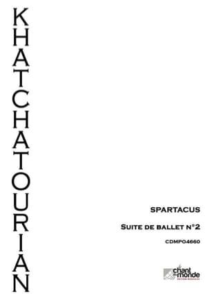 Aram Khatchaturian - Spartacus, suite d'orchestre n°2 - Partition - di-arezzo.fr