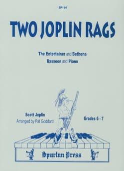 Scott Joplin - Two Joplin Rags - Partition - di-arezzo.fr