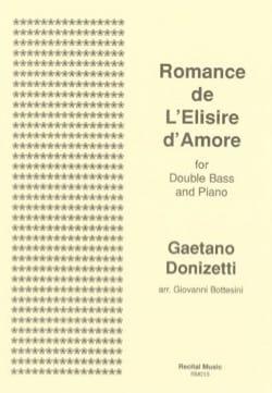 Gaetano Donizetti - Romance de L'Elisir d'Amore - Partition - di-arezzo.fr