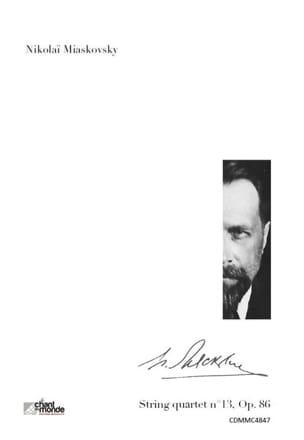 Quatuor à cordes n° 13, Op. 86 la mineur - laflutedepan.com