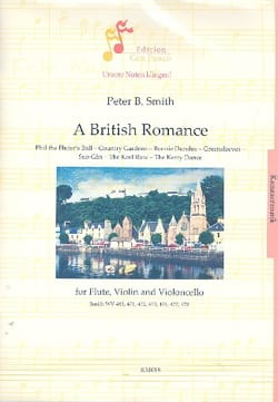 Peter B. Smith - A British Romance - Partition - di-arezzo.fr