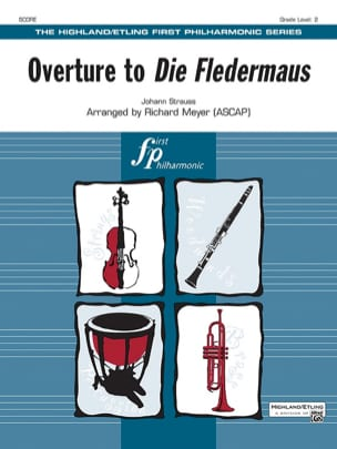 Johann (Fils) Strauss - Overture to Die Fledermaus - score - parts - Sheet Music - di-arezzo.com