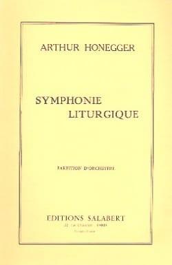 Symphonie Liturgique HONEGGER Partition Petit format - laflutedepan