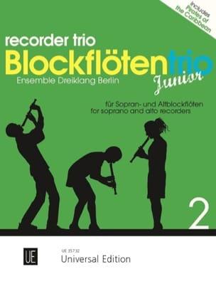 Blockflötentrio Junior - Vol. 2 - Partition - laflutedepan.com