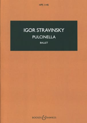 Igor Stravinsky - Pulcinella, Ballet - Sheet Music - di-arezzo.co.uk
