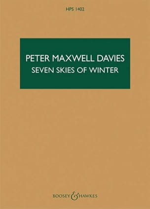 Seven Skies of Winter - Davies Peter Maxwell - laflutedepan.com