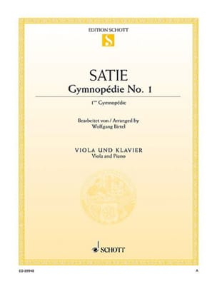 Erik Satie - Gymnopedia # 1 - Sheet Music - di-arezzo.com